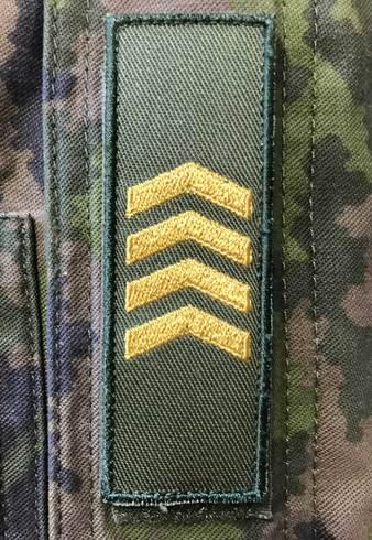 Sotilasarvot Järjestyksessä